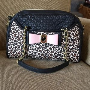 Betsey Johnson quilted handbag